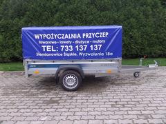 Wypożyczalnia przyczep Katowice
